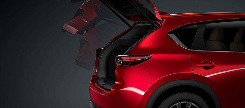 Mazda CX-5 boot space at Barloworld