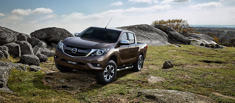 Mazda BT-50 capabilities at Barloworld